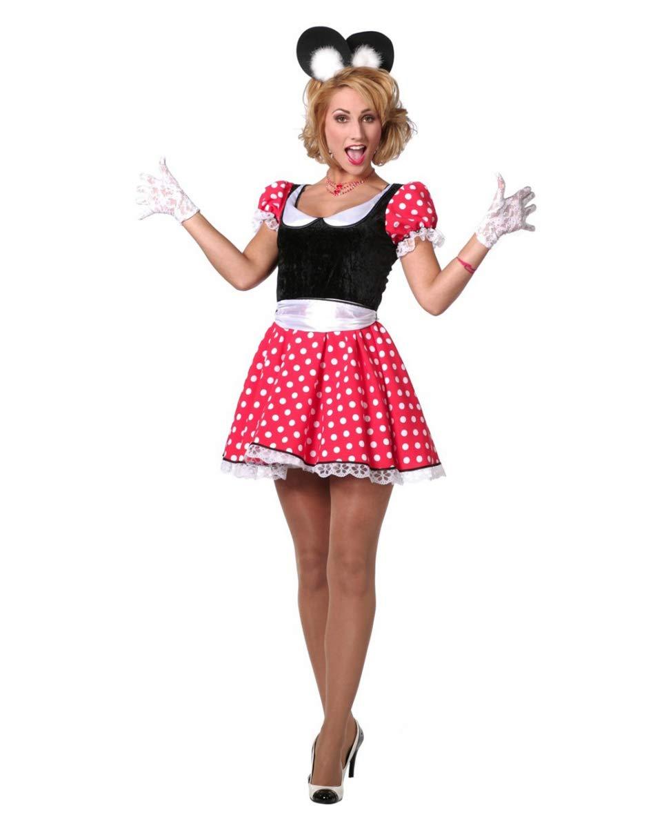 Horror-Shop Sexy Minnie Mouse Traje De Damas 38: Amazon.es ...