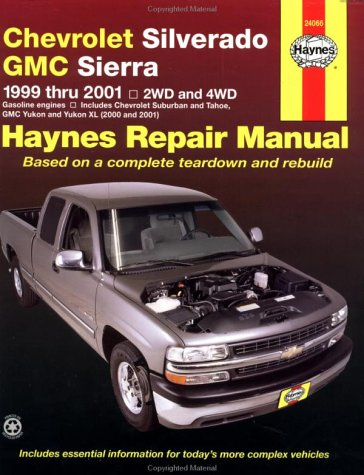 Chevrolet Silverado & Gmc Sierra    Repair Manual 1999-2001