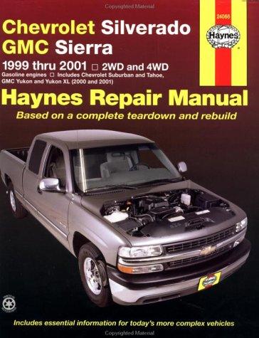 Chevrolet Silverado & Gmc Sierra Repair Manual 1999-2001