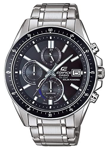 Casio Reloj Analógico para Hombre de Cuarzo con Correa en Acero Inoxidable EFS-S510D-1AVUEF