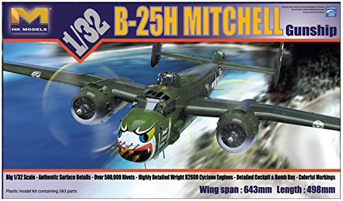 HK MODELS 1/32 B-25H Mitchell