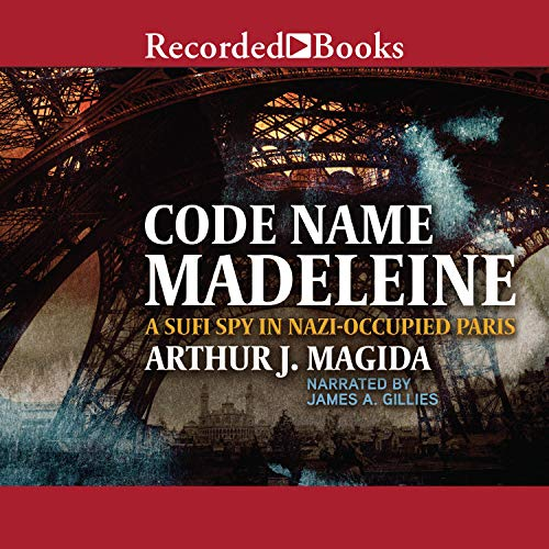 Code Name Madeleine audiobook cover art