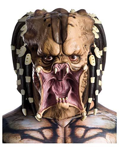 Horror-Shop Máscara De Látex De Cabeza Completa Predator para Adultos