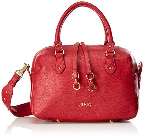 Liu Jo Damen Eze Bowling Tasche, Rot (Lacca), 15x20x31 cm