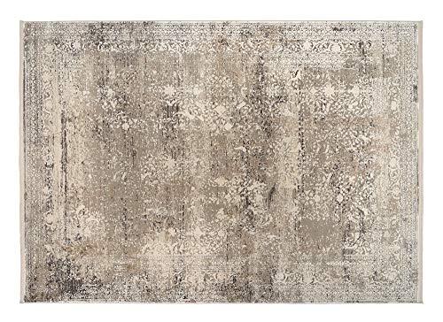 OCI CAVA Teppich 947 grau-Gold 67 x 130 cm