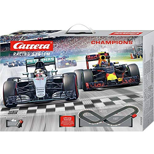Carrera Mercedes F1 Slot Racing Champions