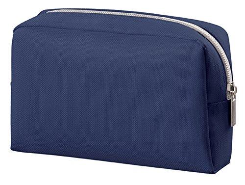 HALFAR - Petite trousse toilette - sacoche - pochette maquillage - 1807546 (Bleu marine)