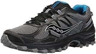 Saucony Men's Excursion TR11 Running Shoe, Black/Blue, 8.5 Medium US