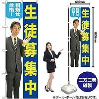 のぼり旗 生徒募集中 GNB-2646(受注生産)