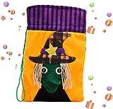 LTGABA Bolsas de Dulces de Halloween, Truco o Trato con cordón Bolsas de Dulces Regalo Goodie Halloween para Suministros Fiesta niños y niñas,Halloween Props