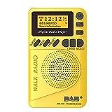 Docooler P9 Mini Pocket Dab/FM Radio Digital FM Demodulador Digital con Pantalla LCD Reproductor de MP3 portátil Ranura para Tarjeta TF