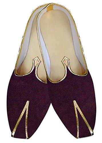 INMONARCH El Novio Vino Hombres Zapatos de Boda MJ015275S6 38 El Vino