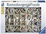 Ravensburger-17429 4 Puzzle 5000 Piezas La Capilla Sixtina, Multicolor (17429 4)