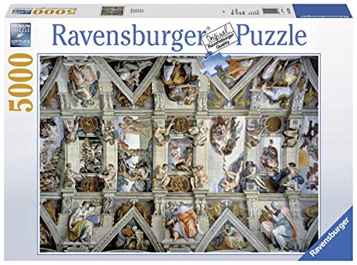Ravensburger Italy- Puzzle in Cartone Cappella Sistina, 5000 Pezzi, 17429
