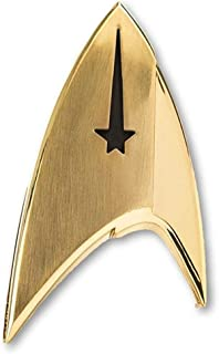 QMx Star Trek Discovery Magnetic Badge - Command