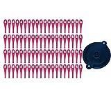 Juego de cuchillas de plástico (80 unidades) con disco de corte, para cortacésped Parkside PRTA 20 Li A1 - LIDL IAN 311046