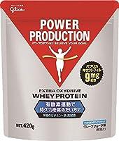 グリコ パワープロダクション エキストラ オキシドライブプロテイン グレープフルーツ味 420g【使用目安 約14食分】