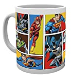 GB Eye LTD, DC Comics, Justice League Grid, Tasse