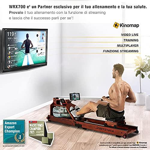 Sportstech WRX700 Wasser Rudergerät - 8