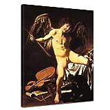 Leinwandbild Caravaggio Amor als Sieger - 50x60cm hochkant