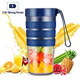 Portable Blender, Mini Smoothie Blender with Rechargeable Battery 7.4V Strong Power, 10oz Cordless...