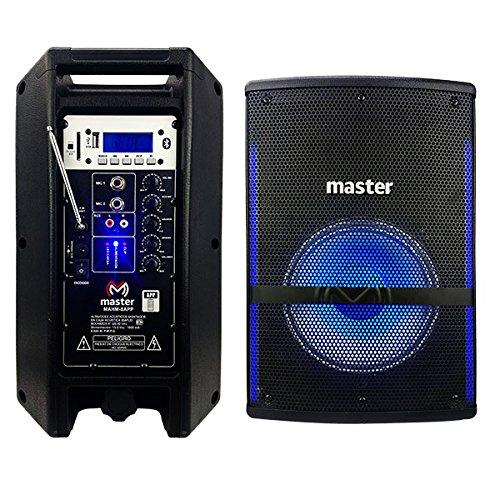 Master- Bafle Amplificado de 8 Pulgada de tecnología de Avanzada Debido a Que podrás configurarlo a…