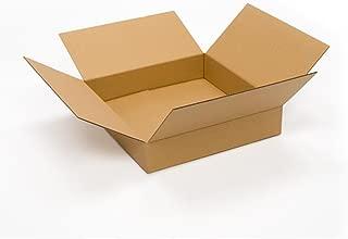 Pratt PRA0118 100% Recycled Corrugated Cardboard Box, 20