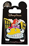 Disney Pin - Jessica and Roger Rabbit with Benny Taxi Cab