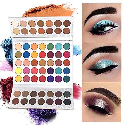 Beauty Glazed 63 Colores De Sombra De Ojos Polvo De Sombras De...