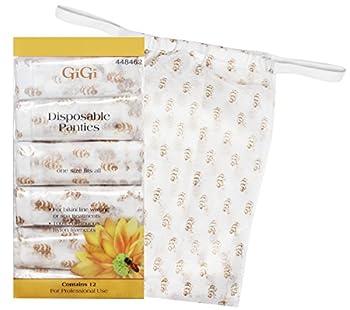 GiGi Disposable Panties for use During Brazilian Waxing 12 pk