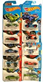 Hot Wheels Cars Collection of 10 Futuristic Models (Multicolour)