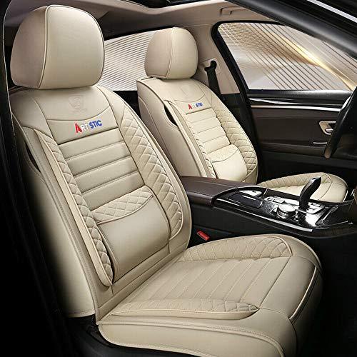 Chemu - Juego de fundas para asientos de coche de piel sintética para Mercedes Benz W203 W204 W205