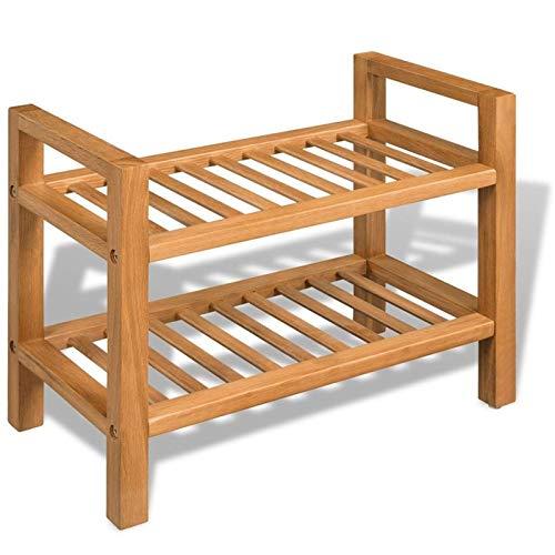 Lshbwsoif Zapatero con 2 estantes para guardarropa ordenada y dormitorio
