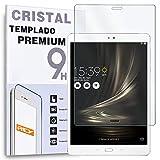 REY Protector de Pantalla para ASUS ZENPAD 3S - Z500M 10 (9.7'), Cristal Vidrio Templado Tablet Premium