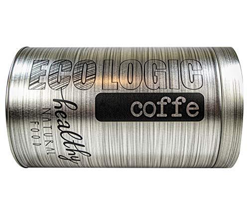 Memories Bote/Tarro Hermético para el Café Hecho 100% de Aluminio