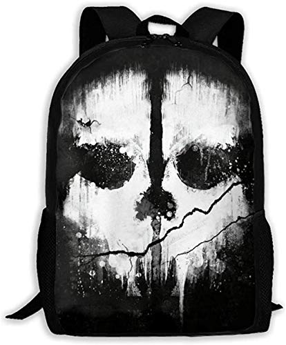 Mochila Escolar Mochila para Adultos De Gran Capacidad Call of Duty Ghosts...