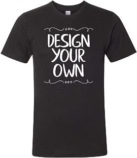 American Apparel-Fine Jersey T-Shirt, Custom Design Your Own