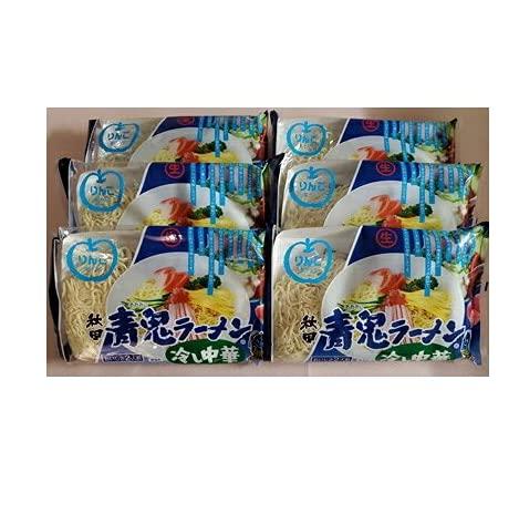 秋田 青鬼ラーメン(冷やし中華) 6袋(12食入り)