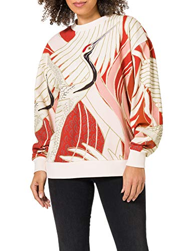 HUGO Damen Dashimaki 10225556 01 Sweatshirt, Open Miscellaneous962, XL