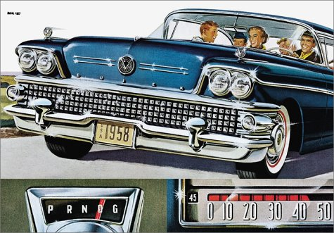 50s Cars: Vintage Auto Ads (Icons)