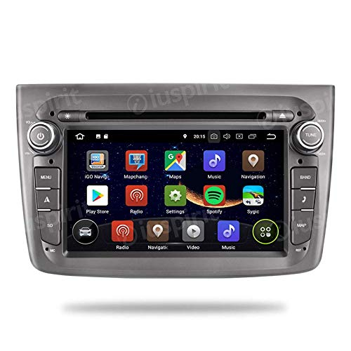 ANDROID 10 GPS DVD USB SD WI-FI DAB+ TPMS MirrorLink Bluetooth autoradio navigatore Alfa Romeo Mito 2008 2009 2010 2011 2012 2013 2014