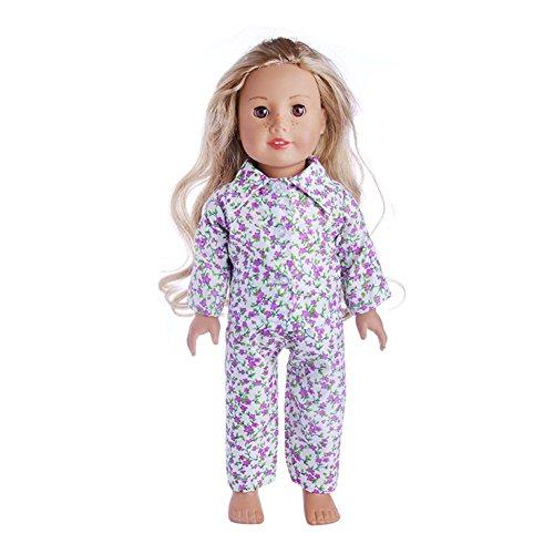 Faironly Puppenanzug mit Langen Ärmeln und Hose für Jungen und Mädchen, 45,7 cm N1370