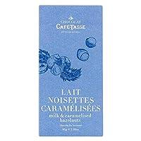 CAFE-TASSE(カフェタッセ) 塩キャラメルヘーゼルナッツミルクチョコ 85g×12個セット