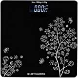 BHAKTINANDAN India Electronic Thick Tempered Glass LCD Display Digital Personal Bathroom Health Body Weight Weighing Scales For Body Weight,weight machine for human body (NORMAL DESIGN)