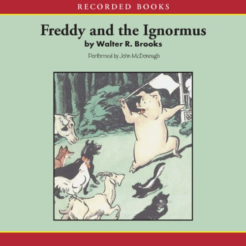 Freddy and the Ignormus audiobook cover art