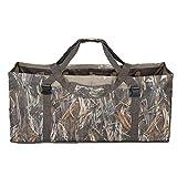 SHINYEVER 12 Slot Duck Decoy Bag – Slotted Decoy Bags with Independent Slots Adjustable Shoulder Strap Dirt Drain Design for Duck Decoys