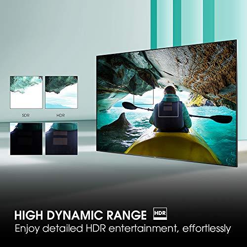 Hisense H50BE7000 - Smart TV 50' 4K Ultra HD con Alexa Integrada, 3 HDMI, 2 USB, salida óptica y de auriculares, Wifi, HDR, Dolby DTS, Procesador Quad Core, Smart TV VIDAA U 3.0 con IA miniatura