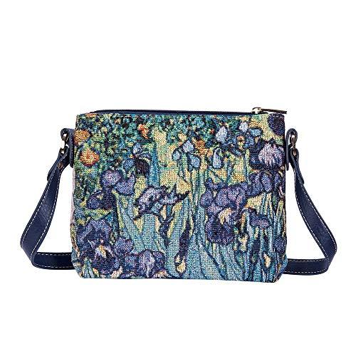 Signare Tapestry - Borse da donna ispirate a Vincent van Gogh, multicolore, S