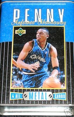 Upper Deck Penny Hardaway 4 All Metal Cards