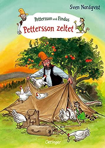 Pettersson und Findus. Pettersson zeltet